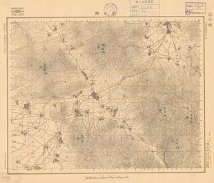 山西省陆测图《五台县》